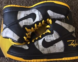 brand new 20d79 44a53 New NIKE Dunk Livestrong 9US FLOM Futura for the love of Money
