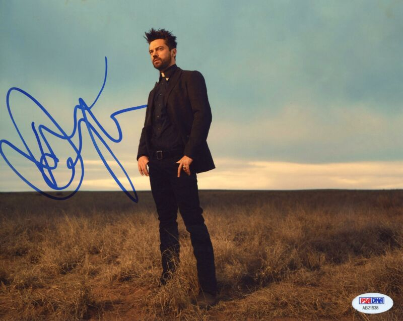 "Dominic Cooper ""Preacher"" AUTOGRAPH Signed 8x10 Photo PSA"
