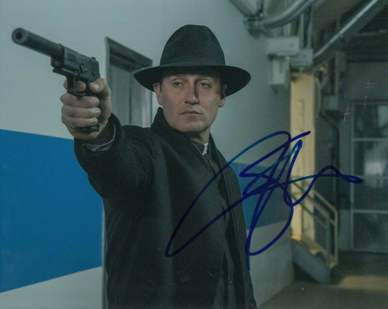 JOSH STEWART signed (THE PUNISHER) autograph 8X10 photo *John Pilgrim* W/COA #4