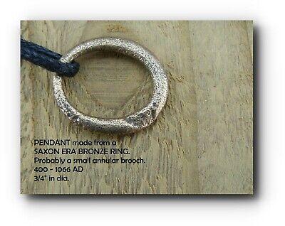 PENDANT, Necklace, Bronze, Celtic Era, ring, fibula, annular brooch, ref 3017