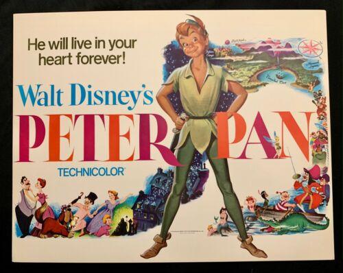 Peter Pan Original Lobby Card R71 Walt Disney Productions TC