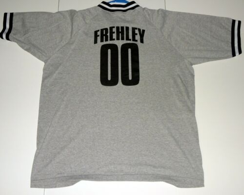 KISS Band ACE FREHLEY 00 Farewell Tour 2000 SOCCER FOOTBALL Shirt 2XL UNWORN