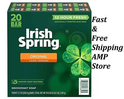 Irish Spring Original Deodorant Soap (3.7 oz., 20 ct.) Free Shipping