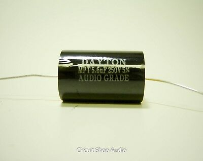 5.6 Uf 250 Volt Speaker Crossover Audio Polypropylene Capacitor - Bass Blocker
