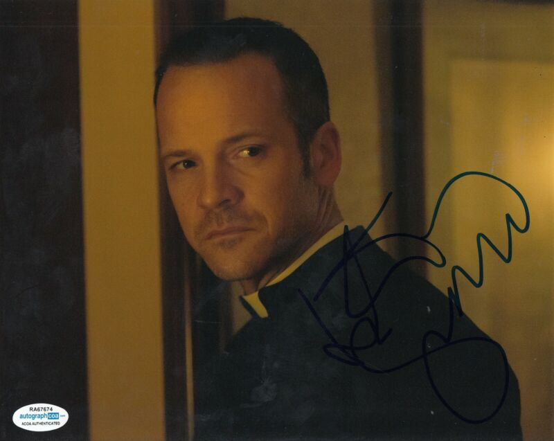 PETER SARSGAARD signed (PAWN SACRIFICE) movie 8X10 photo ACOA Authenticated