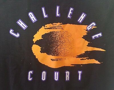 Vintage NIKE Tennis Challenge Court Agassi Sweatshirt Sz XL Youth / S Adult USA