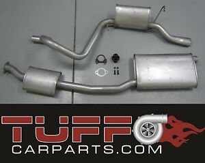 STANDARD CAT BACK EXHAUST MUFFLER SYSTEM EF EL AU FORD FALCON 6 SEDAN CATBACK