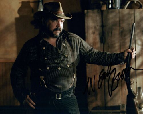 W Earl Brown Signed Autographed 8x10 Photo Deadwood Preacher Actor COA