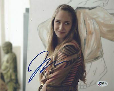 Jemima Kirke Signed 8X10 Photo Autographed Coa Beckett Bas   Girls  Untogether 2