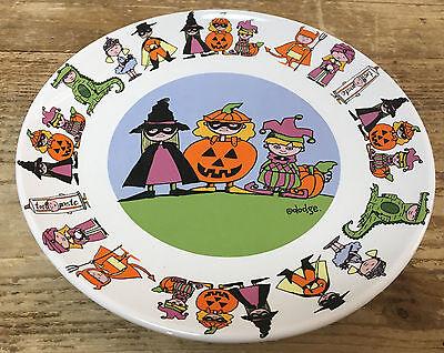 1 Salad Plate Halloween Goblins Trick Treat Costumes Ursula Dodge Signature Kids](Kids Goblin Costume)