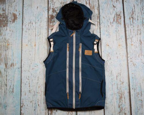 Neckpacker Adult m MEDIUM Travel Vest Petrol Blue RETAIL  $179