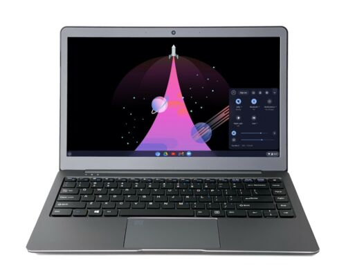 New CloudReady Chromebook 13.3-in FDH - Fast WiFi - Metal body - by IOXO