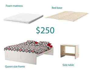 FULL IKEA QUEEN BED SET Sydenham Marrickville Area Preview