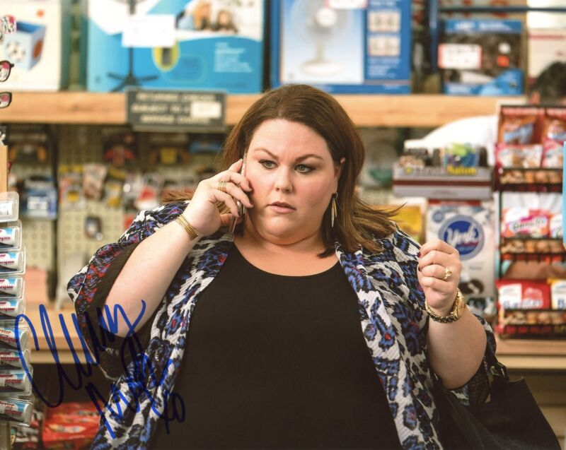 "Chrissy Metz ""This Is Us"" AUTOGRAPH Signed 8x10 Photo D ACOA"