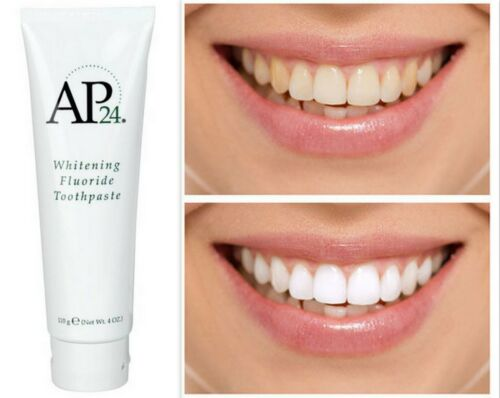 New! Nuskin Nu Skin AP-24 Whitening Fluoride Toothpaste 4oz Exp 2021 AUTHENTIC