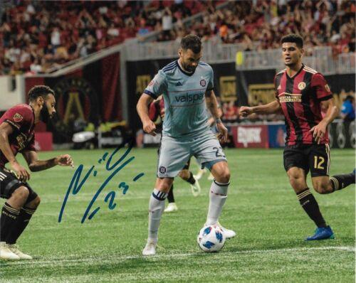 Chicago Fire Nemanja Nikolic Autographed Signed MLS 8x10 COA #3