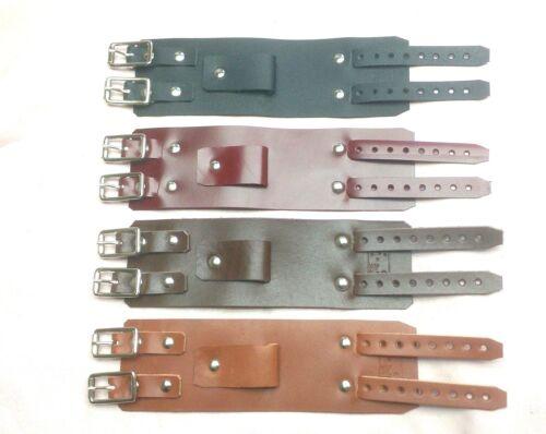 Leather Depp wrist band cuff Bracelet Elliott smith steam punk strap Rats Bum
