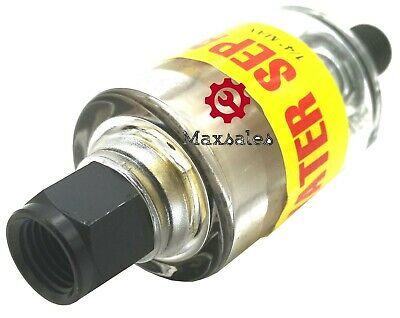 New Air Oil Water Separator Trap Filter Seperator 14 Npt Air Cleaning 150psi