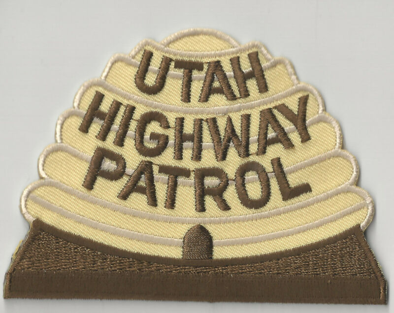 UTAH HIGHWAY PATROL - SHOULDER PATCH - IRON OR SEW-ON PATCH