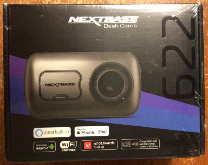 NEXTBASE NBDVR622GW 622GW 4k Dash Camera - Silver - New!!!