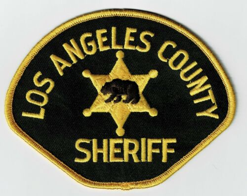 LOS ANGELES COUNTY SHERIFF - SHOULDER PATCH - SEW-ON PATCH