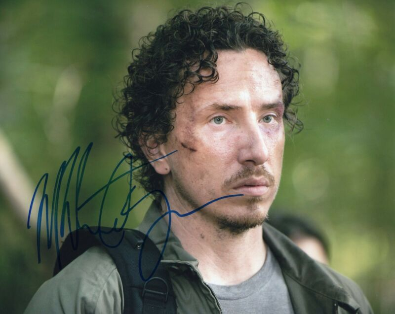 Michael Traynor The Walking Dead Nicholas Signed 8x10 Photo w/COA #2