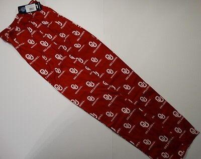 Oklahoma Sooners  - Youth XL Crimson Team Logo Flannel Pajama Pants - NWT
