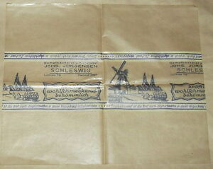 GERMAN WW2 WARTIME WRAPPING PAPER FROM BAKERY, GERMAN WW2 BREAD, BIG SHEET - <span itemprop='availableAtOrFrom'>Katowice, Polska</span> - GERMAN WW2 WARTIME WRAPPING PAPER FROM BAKERY, GERMAN WW2 BREAD, BIG SHEET - Katowice, Polska