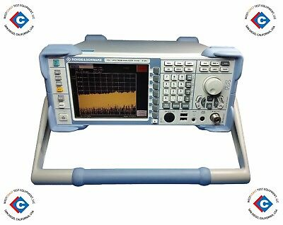 Rohde Schwarz Fsl6 Spectrum Analyzer - 9 Khz To 6 Ghz Used
