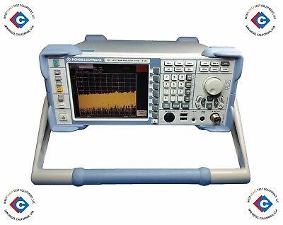 Rohde Schwarz Fsl6 Spectrum Analyzer - 9 Khz To 6 Ghz Used