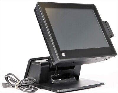 Hp Rp7 7800 Retail Pos System 15 Touchscreen Celeron G540 2.5ghz 4gb 500gb Ssd