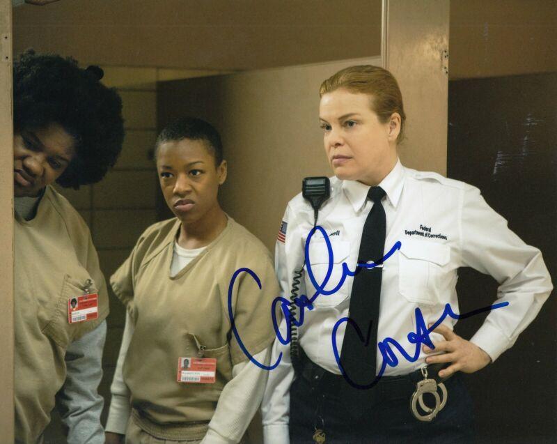 CATHERINE CURTIN signed (ORANGE IS THE NEW BLACK) *Wanda* 8X10 photo W/COA #2
