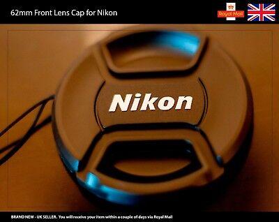 62mm Front Lens Cap for NIKON