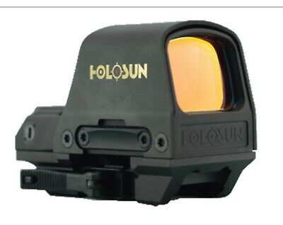 *NEW*HOLOSUN Hs510c 2 MOA Open Reflex Circle Dot Solar Power Holographic Red.