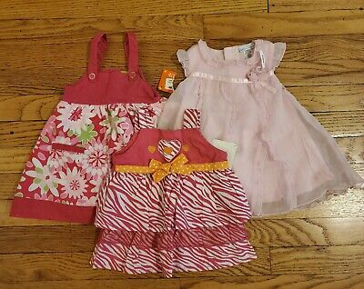Baby Girl Summer Clothes/Dresses Size 6-9 months, Lot of 3, Penelope Mack...