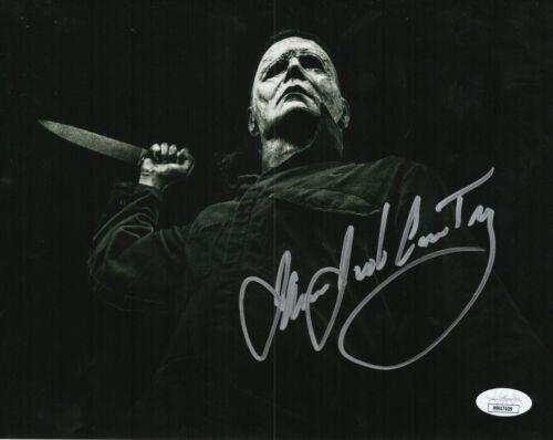 "James Jude Courtney Autograph Signed 8x10 Photo - Halloween ""Michael"" (JSA COA)"