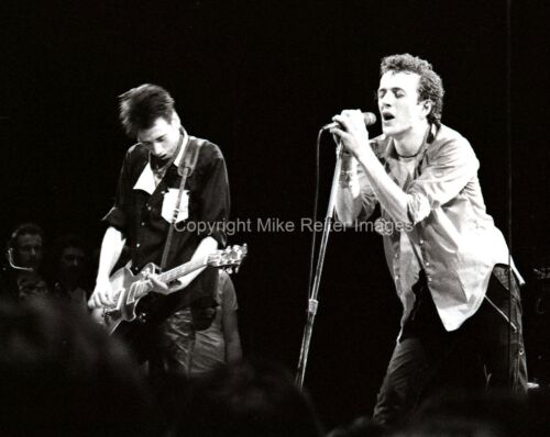 Joe Strummer and Mick Jones of The Clash Photograph 1979 Punk Rock Legends