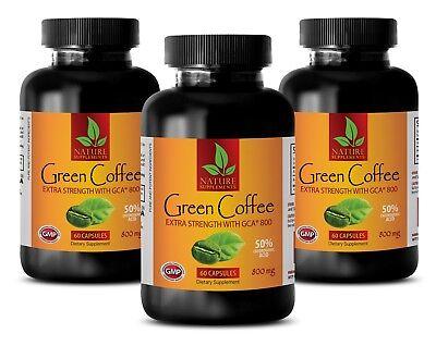 slant loss body shaper - GREEN COFFEE GCA 800MG 3B - fat burner pills