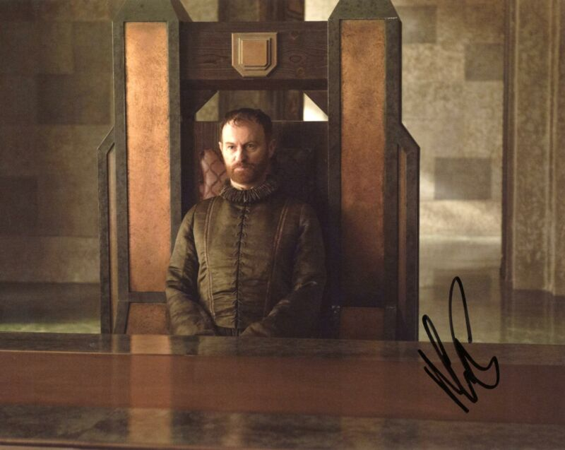 """Mark Gatiss """"Game of Thrones"""" AUTOGRAPH Signed 8x10 Photo"""