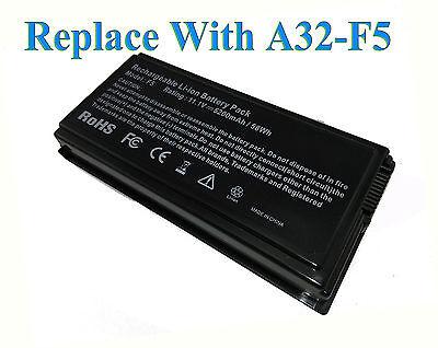 11.1V Batería para portátiles Asus X50 X50C X50GL X50M X50N A32-F5 A32F5...