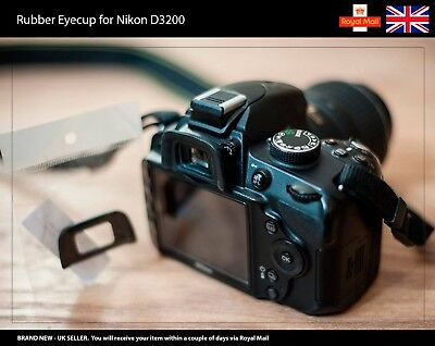 Rubber Eyecup / Eye Cup / Eyepiece / Viewfinder for NIKON D3200 Camera