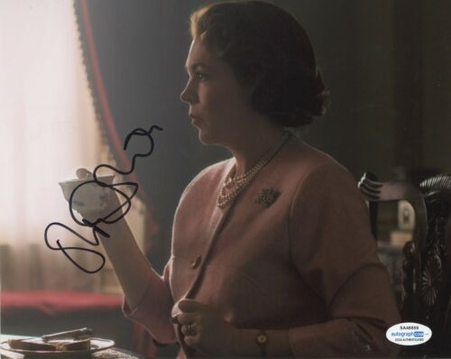 Olivia Colman The Crown Autographed Signed 8x10 Photo ACOA
