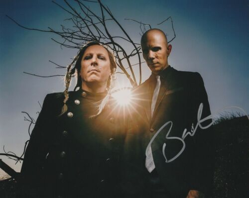 * BILLY HOWERDEL * signed autographed 8x10 photo * A PERFECT CIRCLE * 3