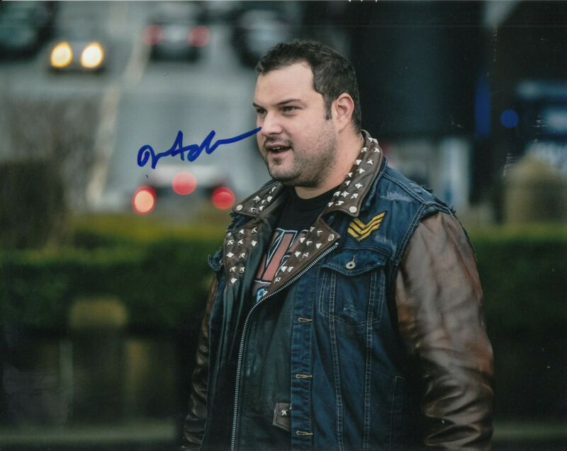 MAX ADLER signed (THE FLASH) 8X10 photo *Jaco Birch* autographed W/COA #2