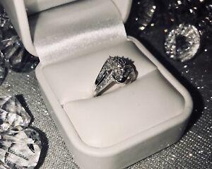 Bague Or blanc 49 diamants