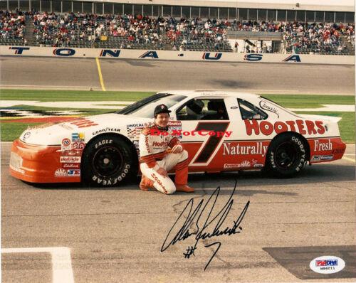 ALAN KULWICKI  NASCAR autographed SIGNED 8x10 photo RP