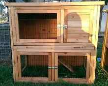 DOUBLE STORY RABBIT HUTCH SIZE 1040(L)X 525(D) X*920 (H  MINI LOP Londonderry Penrith Area Preview