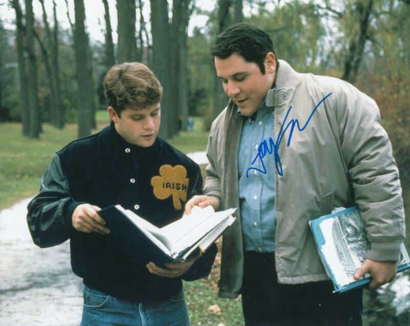 JON FAVREAU signed (RUDY) Movie 8X10 photo *D-Bob* Notre Dame autographed W/COA