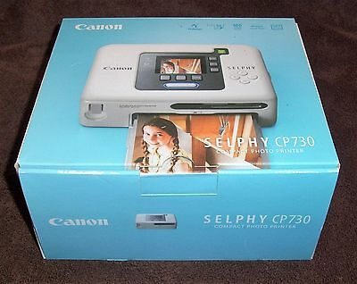 Принтер Cannon Selphy CP730 Compact Photo