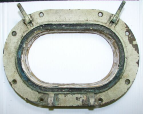 Salvaged Old Bronze Porthole